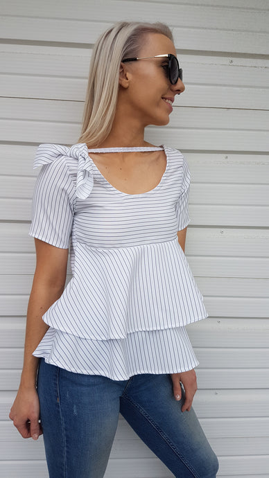 IMOGEN PEPLUM TOP