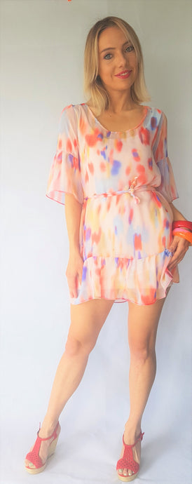 HAZE RUFFLE DRESS