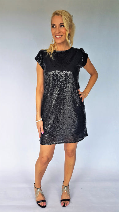 GLAMOUR GIRL SEQUIN DRESS