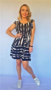 LOVE ME RUFFLE DRESS