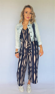 BOSS CROPPED JUMPSUIT