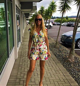FLOWER POP PLAYSUIT