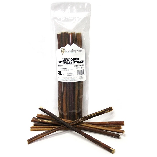"12"" Bully Stick Low Odor 8oz"