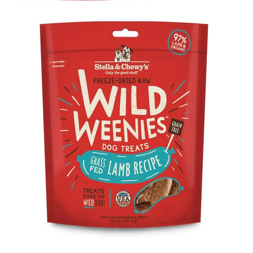 Wild Weenies Lamb Recipe 3.25 oz.