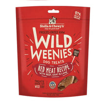 Wild Weenies Red Meat Recipe 3.25 oz. | Stella & Chewy's