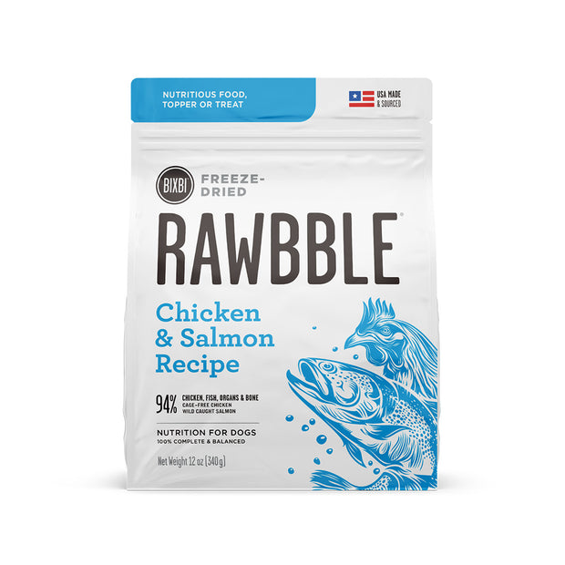 Rawbble Freeze-Dried Salmon & Chicken Recipe