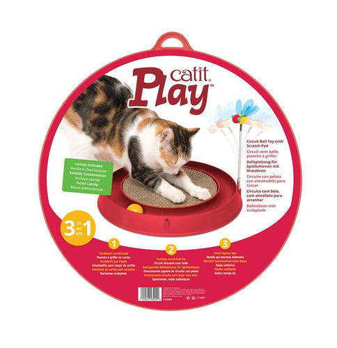 Circuit Ball Toy with Scratcher - Bancroft Pet Shop