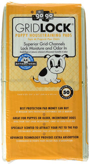 Puppy Housetraining Pee Pads | Gridlock