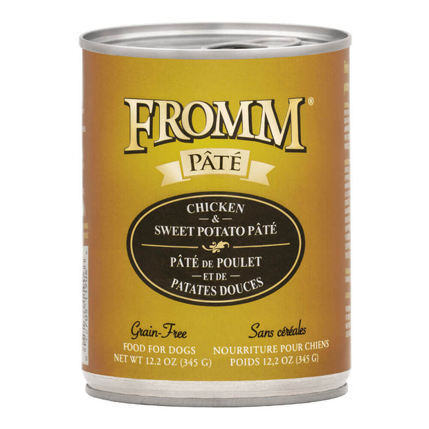 Chicken & Sweet Potato Pate 12.2 oz. | Fromm