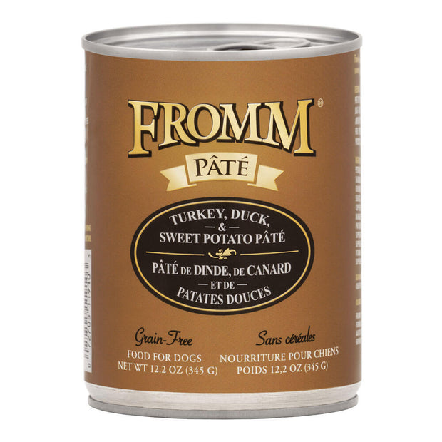 Turkey Duck & Sweet Potato Pate 12.2 oz. | Fromm