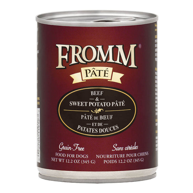 Beef & Sweet Potato 12.2 oz. Pate | Fromm