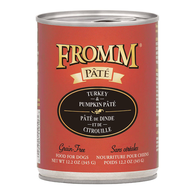 Turkey & Pumpkin Pate 12.2 oz. | Fromm