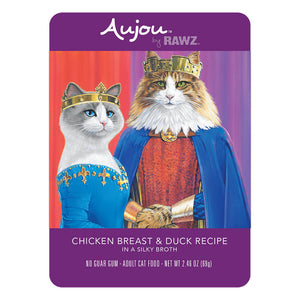 Aujou Chicken Breast & Duck 2.46 oz. - Bancroft Pet Shop