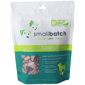 Freeze-dried Raw Lamb Hearts 3.5 oz. - Bancroft Pet Shop