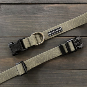Olive Waterproof Collar | Wilderdog