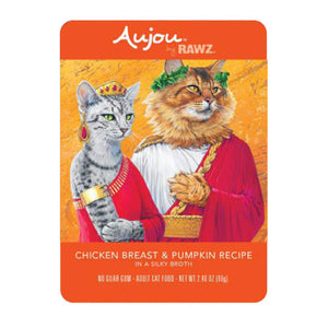Aujou Chicken Breast & Pumpkin 2.46 oz. - Bancroft Pet Shop