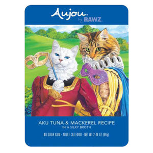 Aujou Aku Tuna & Mackerel 2.46 oz. - Bancroft Pet Shop
