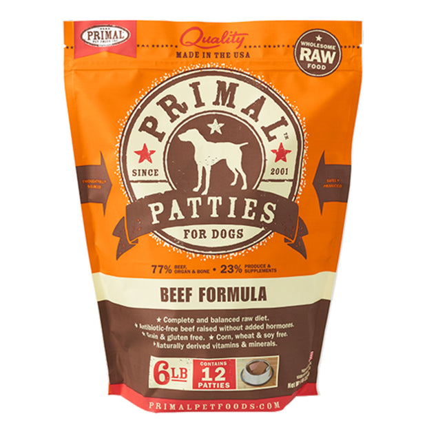 Beef Frozen Raw for Dogs | Primal