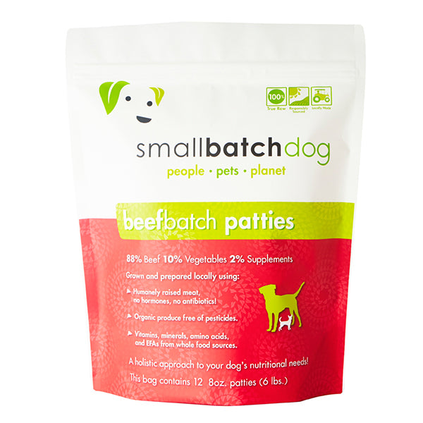 Beef Batch Frozen Raw for Dogs | Smallbatch