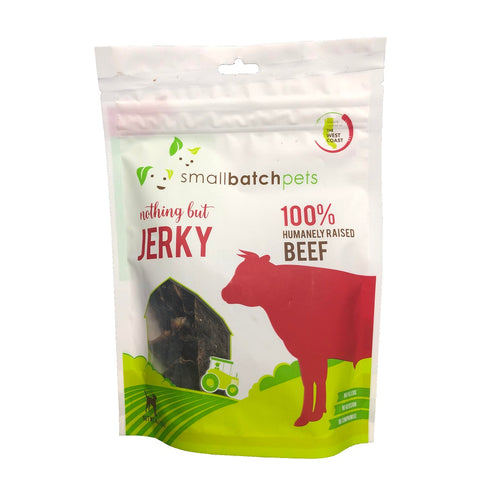 Nothing But Jerky Beef 4 oz. - Bancroft Pet Shop