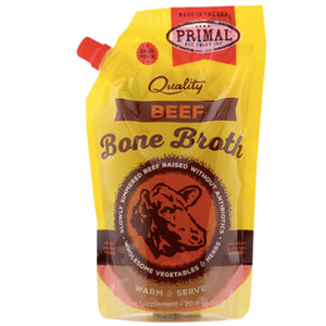 Frozen Beef Bone Broth 20 oz | Primal
