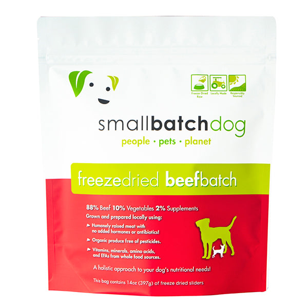 Beef Batch Freeze-dried Raw 14 oz | Smallbatch