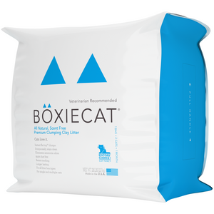 BOXIECAT All Natural Unscented Clay Litter - Bancroft Pet Shop