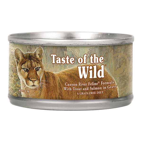 Canyon River with Trout & Salmon 3 oz. | Taste of the Wild