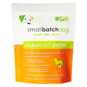 Chicken Batch Frozen Raw for Dogs | Smallbatch