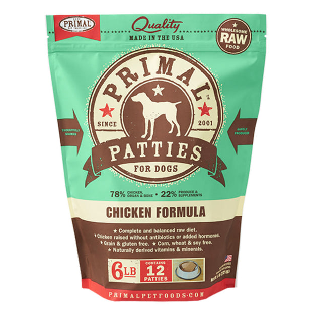 Chicken Frozen Raw for Dogs | Primal