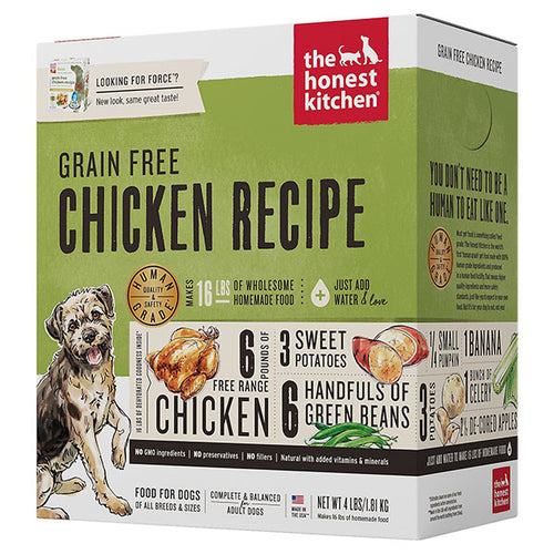 Grain-Free Chicken Dehydrated Recipe for Dogs | The Honest Kitchen