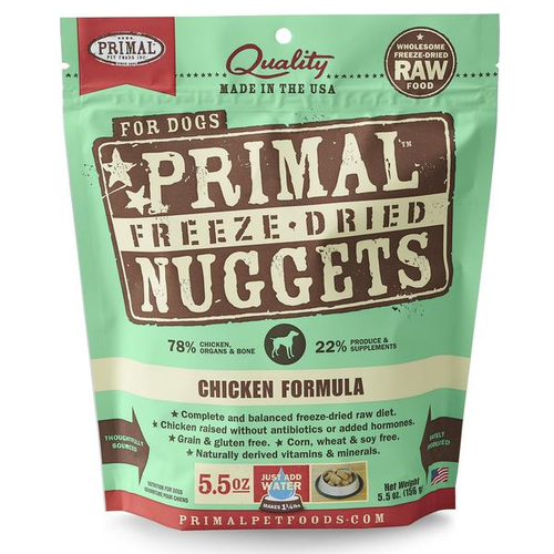 Chicken Freeze-dried Raw Nuggets | Primal