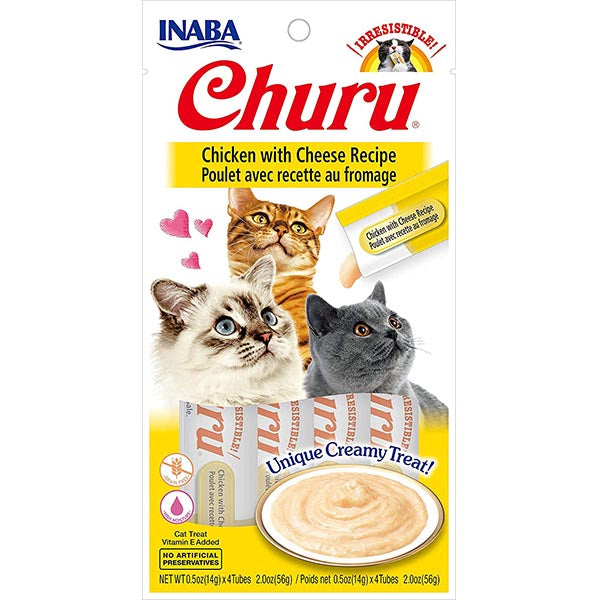 Churu Chicken with Cheese 4 Pack | Inaba
