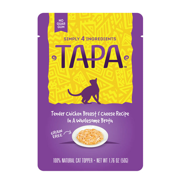 Tapa Chicken Breast & Cheese for Cats 1.76 oz | Rawz