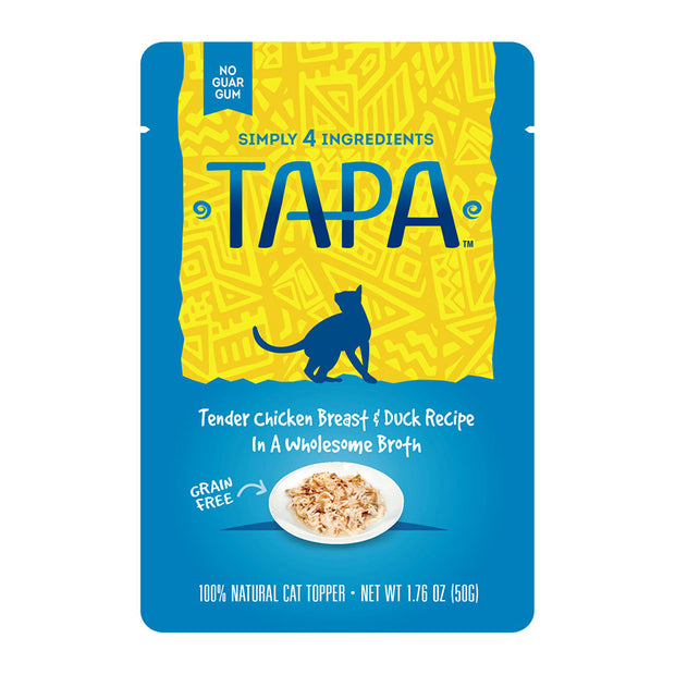 Tapa Chicken Breast & Duck for Cats 1.76 oz | Rawz