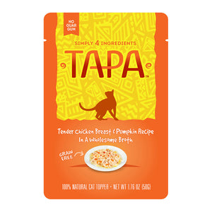 Tapa Chicken Breast & Pumpkin for Cats 1.76 oz | Rawz