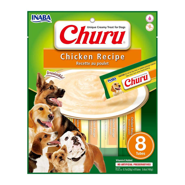 Chicken Recipe Churu for Dogs 8 Pack