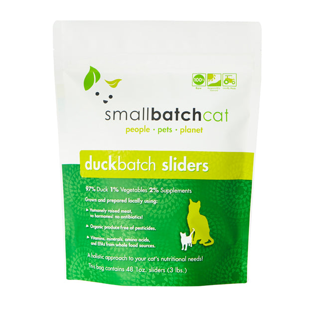 Duck Batch Frozen Raw for Cats | Smallbatch