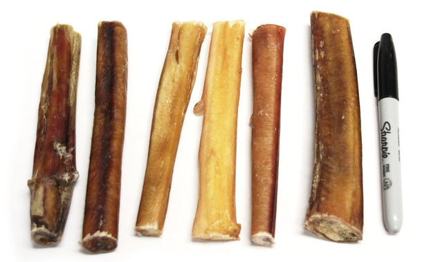 "6"" Thick Bully Stick Low Odor 