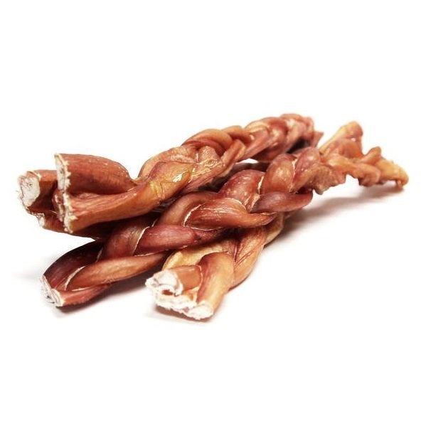 "12"" Braided Bully Sticks 