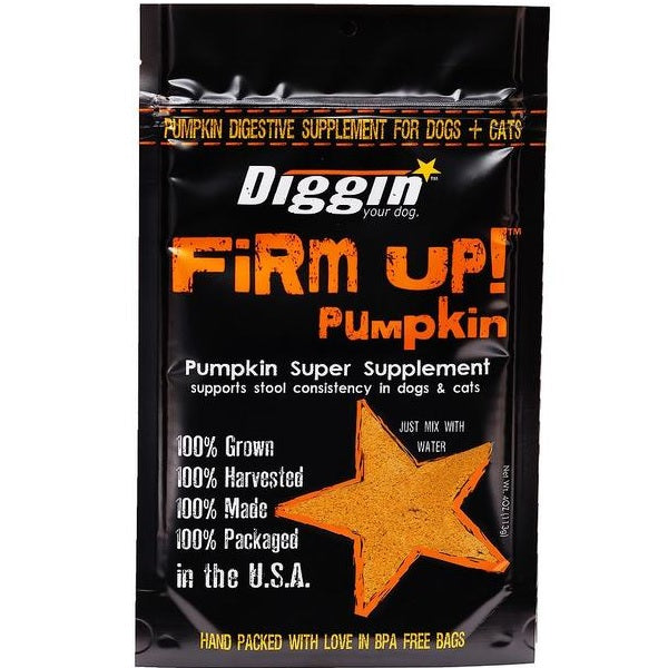 Firm Up! Pumpkin Supplement | Diggin Your Dog