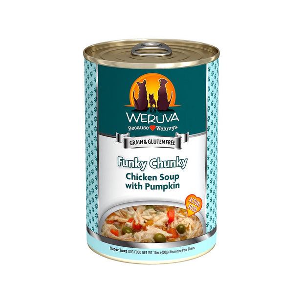 Funky Chunky Chicken Soup with Pumpkin 14oz
