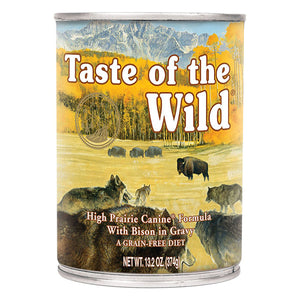 High Prairie Bison in Gravy 13.2 oz. | Taste of the Wild