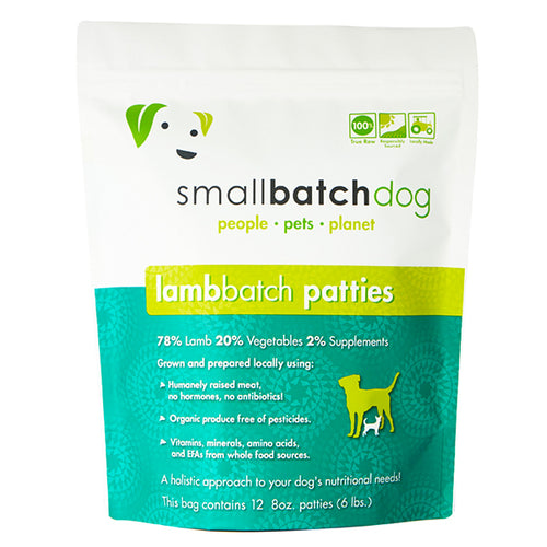 Lamb Batch Frozen Raw for Dogs | Smallbatch