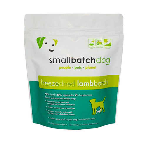 Lamb Batch Freeze-dried Raw 14 oz | Smallbatch