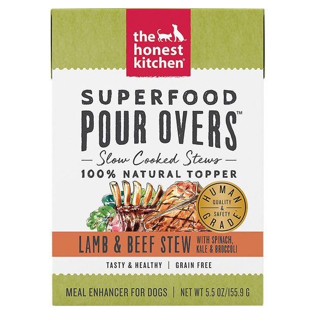 Lamb & Beef Stew Pour Overs 5.5 oz | The Honest Kitchen