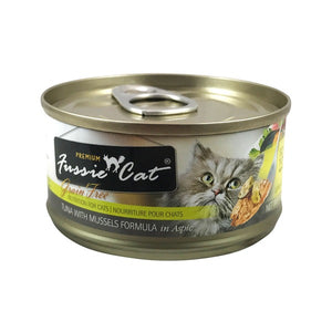 Tuna with Mussels 2.82 oz | Fussie Cat