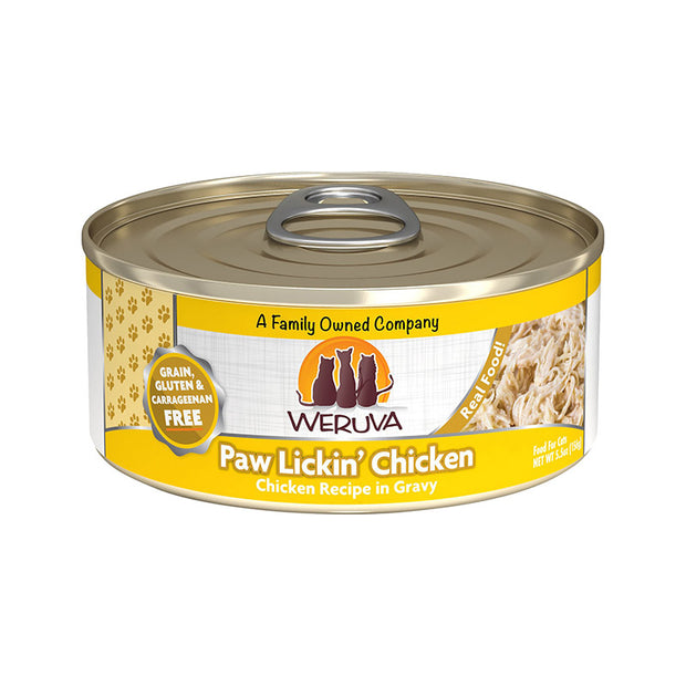 Paw Lickin' Chicken in Gravy for Cats 5.5oz