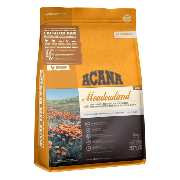Meadowland Cat Food Acana
