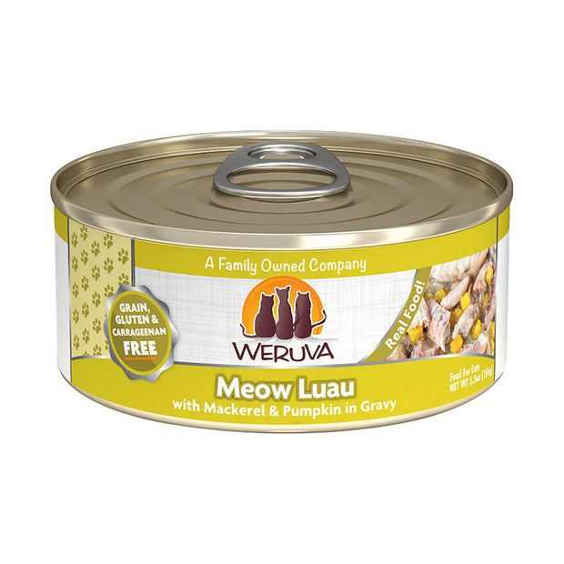 Meow Luau with Mackerel & Pumpkin 5.5oz